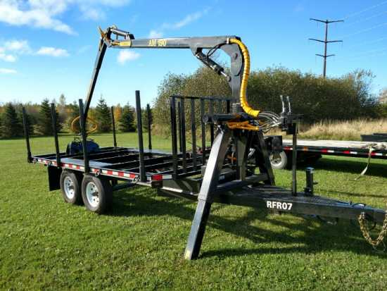 Log Grapple Trailer RFR07 On Road