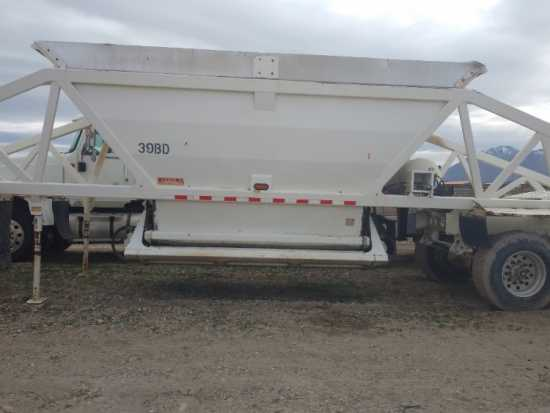 2008 RANCO 40 ft BELLY DUMP TRAILER