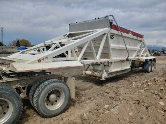 2013 CPS 40 ft Belly Dump Trailer