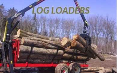 Log Grapple Trailer FOR1610 12 ton off road