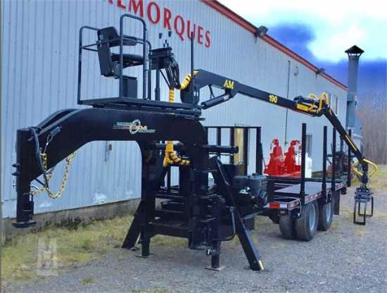 Log Grapple Trailer RFR10 GN