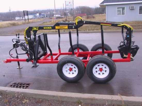 Log Grapple Trailer ATV / UTV